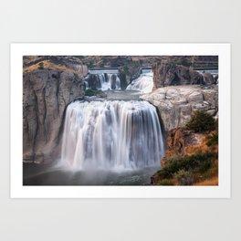 Shoshone Falls in Twin Falls, Idaho Art Print