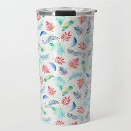 Aloha – Hawaii inspired pattern with a vintage feel Travel Mug