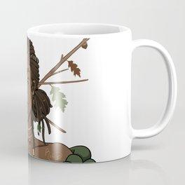 Autumn Oak Goddess • Black Girl Magic in Fall Colors Coffee Mug