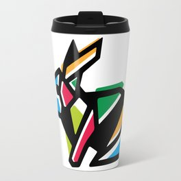 Rainbow Anigami Bunny Travel Mug