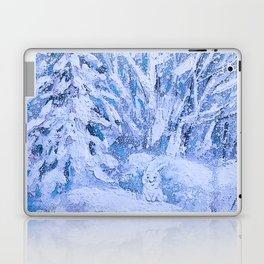 HAPPY FUNNY BUNNY) Laptop & iPad Skin