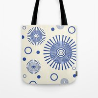 fireworks Tote Bags featuring Fireworks by Amy Newhouse
