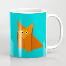 Cute Origami Fox Mug