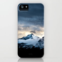 Mountain In Glacier National Park iPhone Case