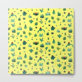 little cacti Metal Print