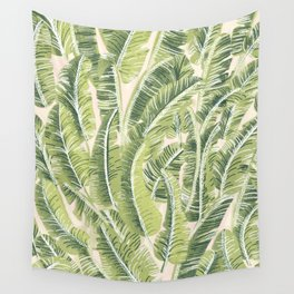 Banana Leaf Pattern Wall Tapestry