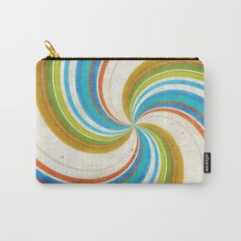 Swirling Retro Candy Pop Carry-All Pouch