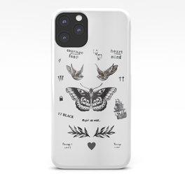 Tattoo à la Harry iPhone Case