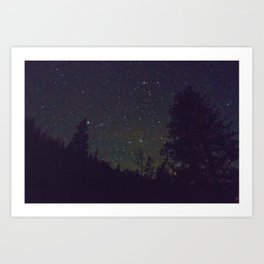 Stars in Yosemite Art Print