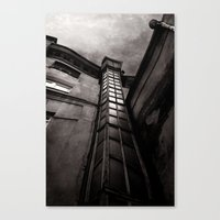 dark tower Canvas Prints featuring The Dark Tower by Margarita Dunwich