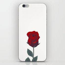 A Rose Was Born iPhone Skin