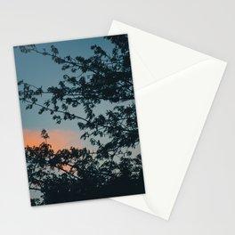 Orange Clouds Stationery Cards
