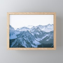 Challenging Climb Framed Mini Art Print