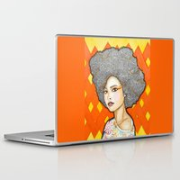 ginger Laptop & iPad Skins featuring Ginger by Bhavana S N