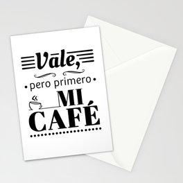 Ok, But First Coffee B/W Stationery Cards