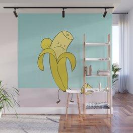 Poor Banana Wall Mural