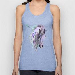 Purple Horse Unisex Tank Top