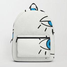 Summer Evil Eyes Backpack
