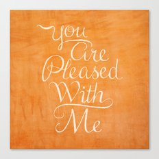Psalm 41 Canvas Print