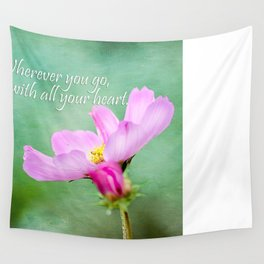 Go With Your Heart Wall Tapestry