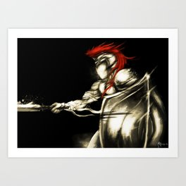 Light's General V.2 Art Print