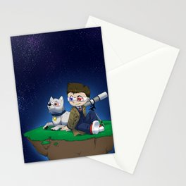 Levitating Island of Awesomeness Stationery Cards