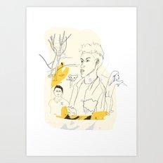 Poster of LGBT Londoners Art Print