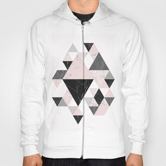 Triangle pattern modern geometric abstract ll Hoody