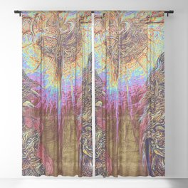 Guardians of the Light Sheer Curtain