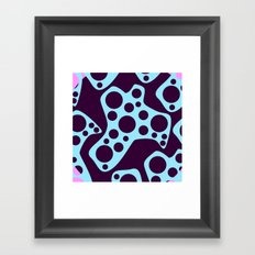 Purple Cheese Framed Art Print