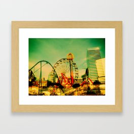 Fair Weather Framed Art Print