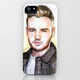 Liam Watercolors iPhone Case