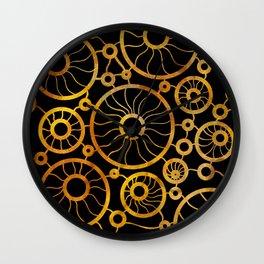 Sunflower Field Pattern Wall Clock