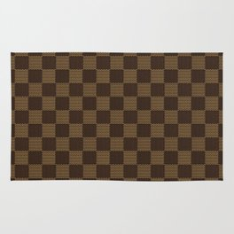 LV pattern style Rug