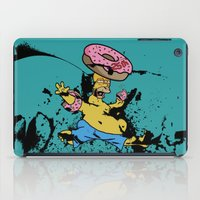 simpsons iPad Cases featuring Simpsons 25th by sinonelineman