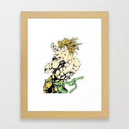 DIO Framed Art Print