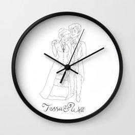 Tessa & Will Wall Clock