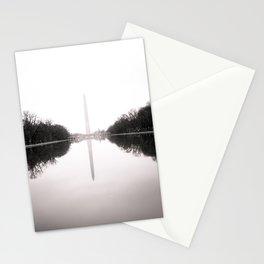Washington Monument in the Mist - Washington D.C. Stationery Cards