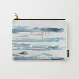 Scenes of Blue Carry-All Pouch