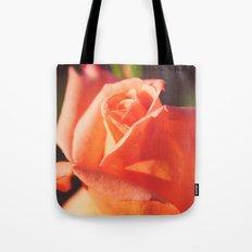 Peachy Rose Tote Bag