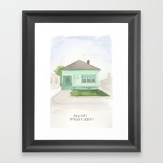 006.  Framed Art Print