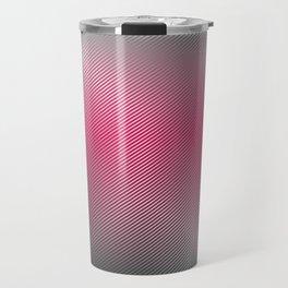 Metallic Hot pink Sheen Travel Mug