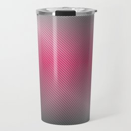 Metallic Hot pink Sheen Travel Mug