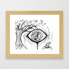 nature's eye Framed Art Print