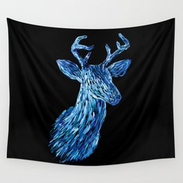Аmazing deer head Wall Tapestry