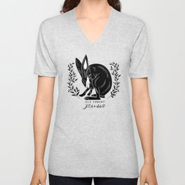 The Blind Jack Rabbit Unisex V-Neck