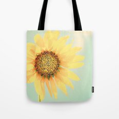 Sunflower Power Pop! Tote Bag