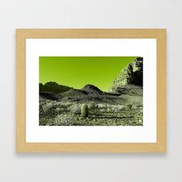 GrandCactus Framed Art Print