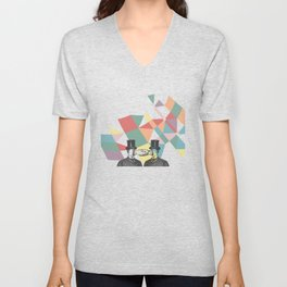 Join Hands Unisex V-Neck