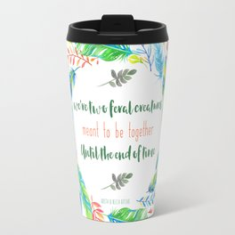 Two Feral Creatures Travel Mug